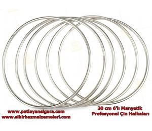 İlizyon ve Sihirbaz Malzemeleri - Büyük Manyetik 6'lı çin halkaları