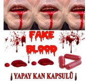 Kan Kapsül şakası 5 adet Kan kapsulü..