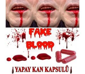 Kan Kapsül şakası 5 adet Kan kapsulü