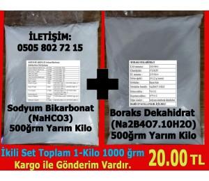 Boraks-Sodyum Bikarbonat