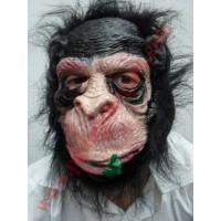 Ağzında Çiçek Maymun Maske
