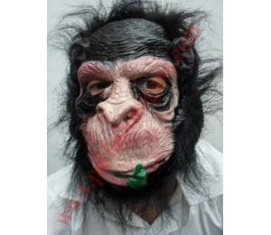 Maskeler - Ağzında Çiçek Maymun Maske