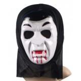 Ağzı Kanlı  İskelet Maskesi..