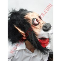 Latex korkunç Maske 1.Kalite