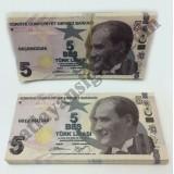 Düğün Parası Geçersiz Sahte Beş Lira