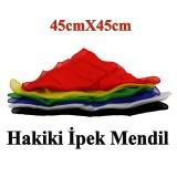 Hakiki ipek Mendil 45cm