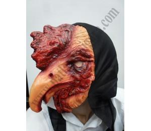 Latex Horoz Figürlü Maske