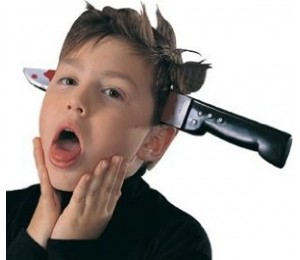 Kafaya Batan Bıçak