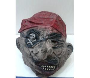Maskeler - Latex Korsan Maskesi