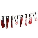 Kanlı Kesici Aletler Dekorasyon..
