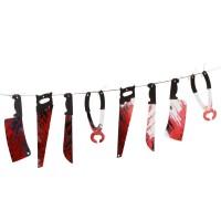 Kanlı Kesici Aletler Dekorasyon