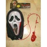 Kanlı Çığlık Maskesi Scream mask Kanlı