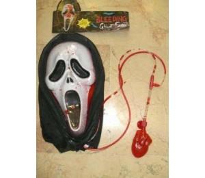 Maskeler - Kanlı Çığlık Maskesi Scream mask Kanlı