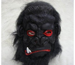 Maskeler - Şempanze Latex maske