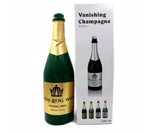 Kaybolan şampanya şişesi