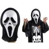 İskelet  Kostümü (Scream Mask Kostümü)..