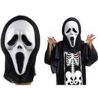 İskelet  Kostümü (Scream Mask Kostümü)