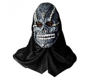 Maskeler - Korkunç Kafatası Kaucuk Maske