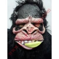Latex Ağzında Muz Maymun Maske
