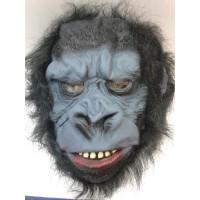 Saçlı Korkunç Goril Maskesi