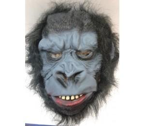 Maskeler - Saçlı Korkunç Goril Maskesi