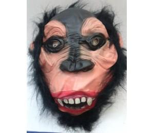 Maskeler - Saçlı Maymun Maskesi Latex