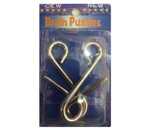 İlizyon ve Sihirbaz Malzemeleri - Metal Pazıl S Şekli