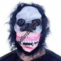 Vampir Dişli Saçlı Maymun Maskesi
