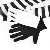 Eldivenleri İpek Zebra...
