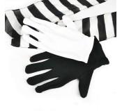 Eldivenleri İpek Zebra At..